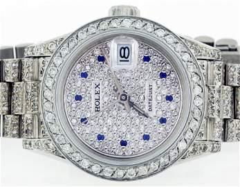 Rolex 18k WG 26mm Lady Datejust 69179 WA28503