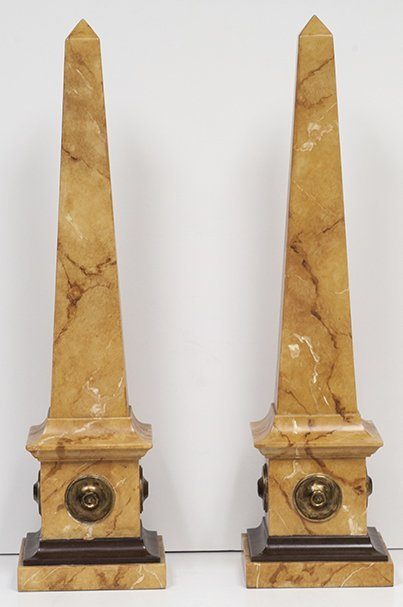 Acanto Marble Sculpture (pair) W782