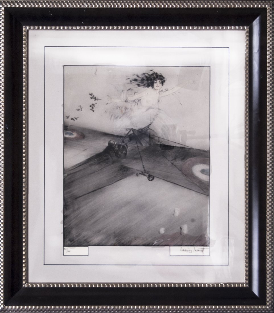 "Louis Icart ""Winged Victory"" (FRAMED) W3672"