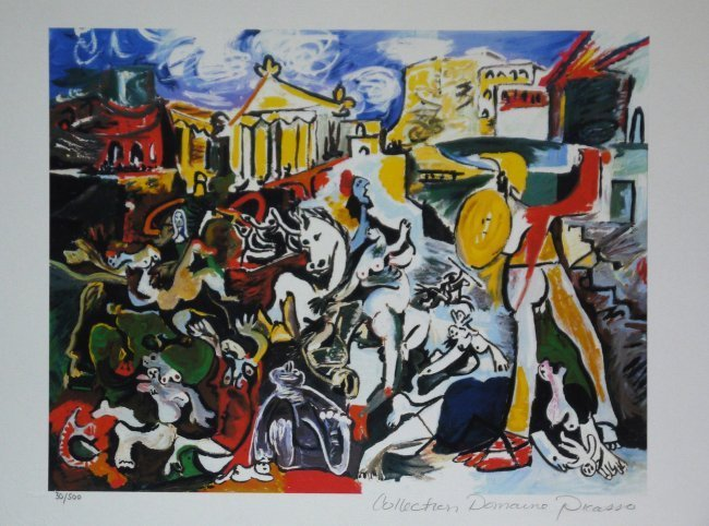 "Pablo Picasso ""The Rape of the Sabine Women"" W30"