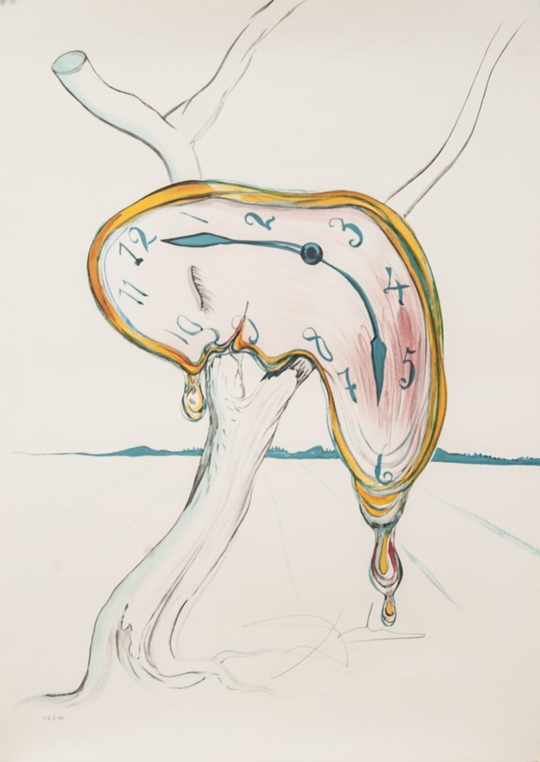 "Salvador Dali ""Tear of Time"" W5251"