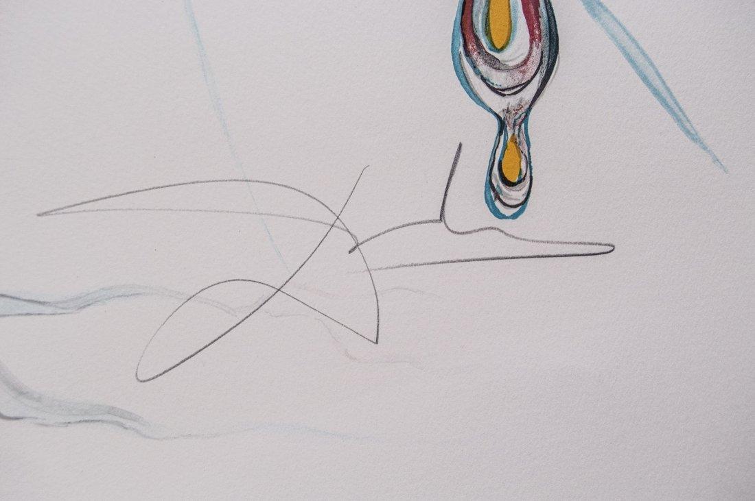 "Salvador Dali ""Tear of Time"" W5251 - 2"