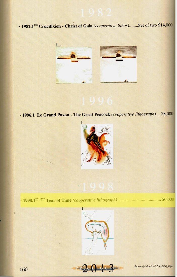 "Salvador Dali ""Tear of Time"" W5251 - 5"