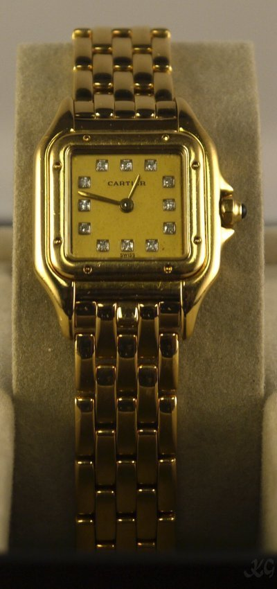 18kt Gold Cartier Panthere Wristwatch W12002
