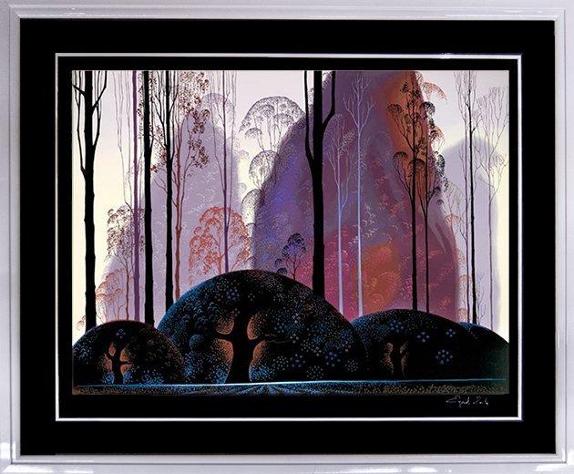 """Eyvind Earle """"Untitled"""" (FRAMED) W2239"""