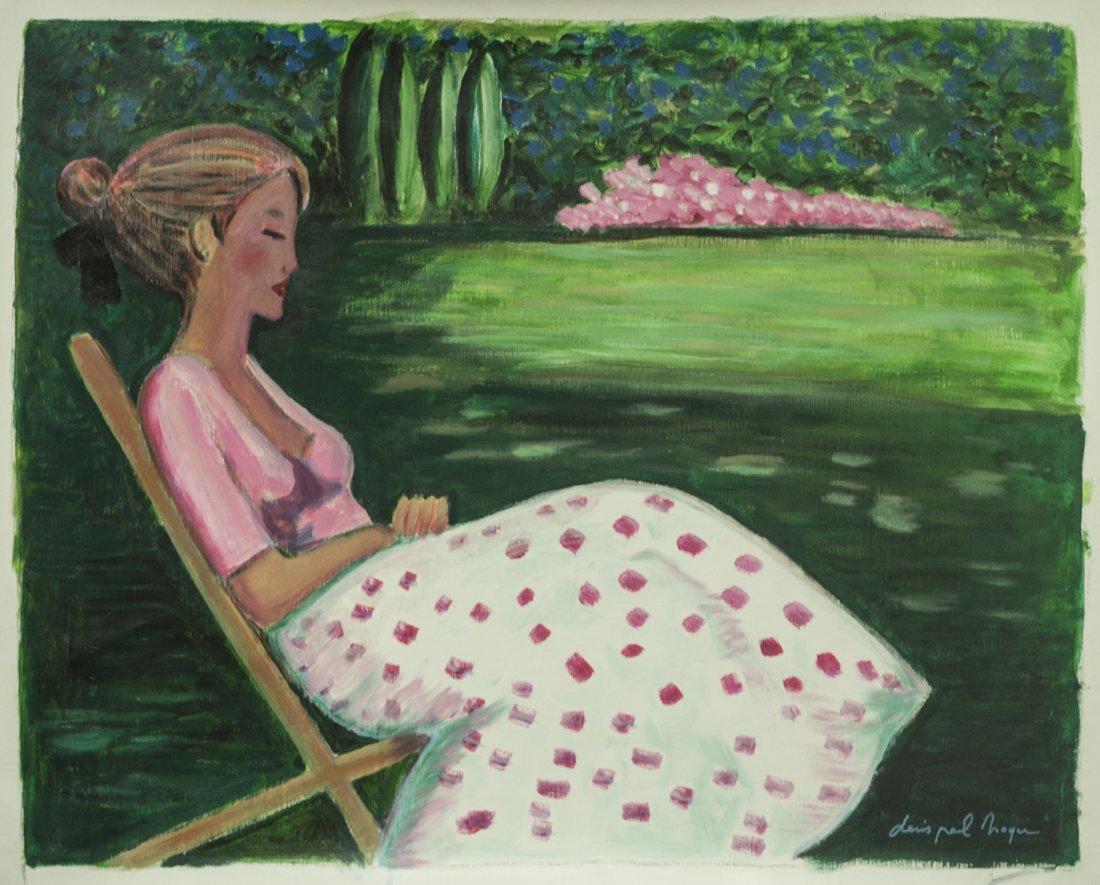 Listed Artist Original Denis Paul Noyer W1352