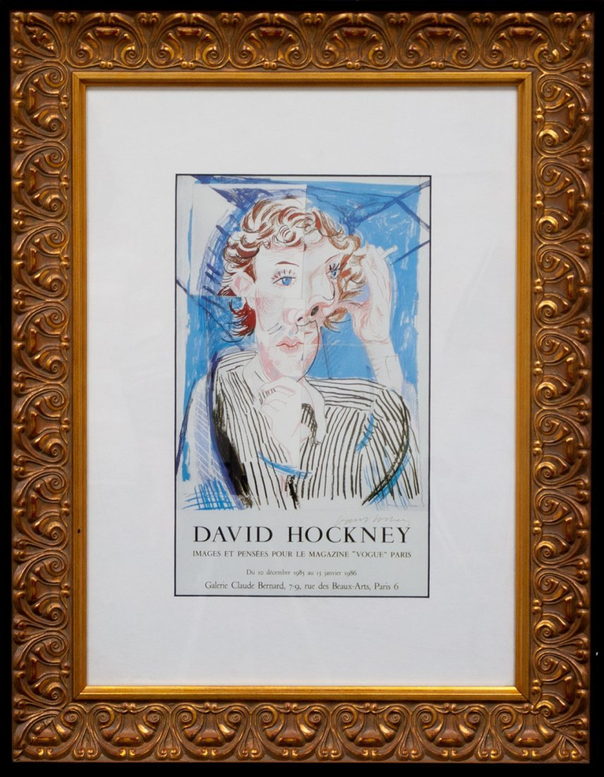 "David Hockney ""The Parade Poster, Musee Picasso""W275"