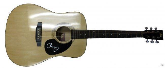 John Mellancamp Signed Guitar W659
