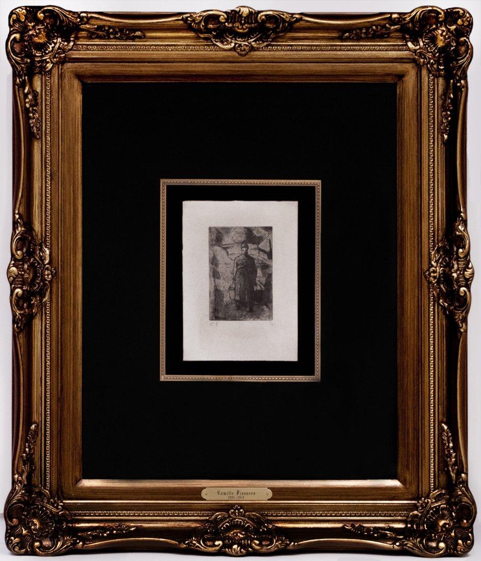 "Jacob Camille Pissarro ""The Peasant Woman"" W15262"