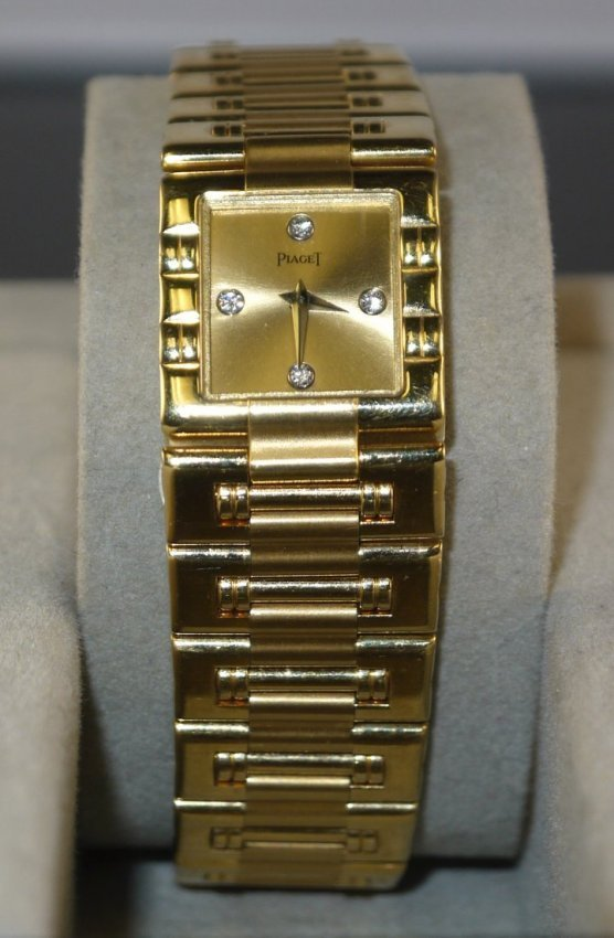 18kt YG Piaget Ladies Dancer Wristwatch W17502