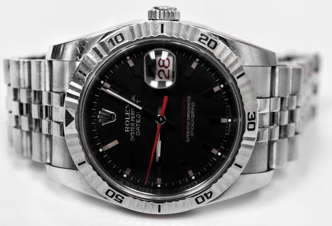 Rolex 2005 Turn O Graph Watch W13582