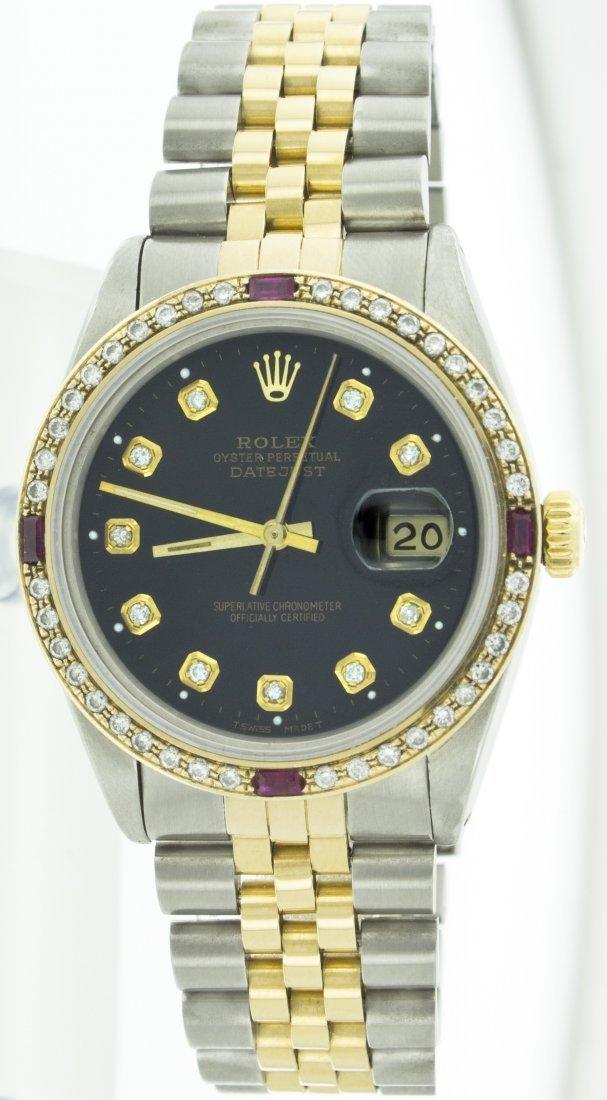 Rolex Stainless Steel&18k Yellow Gold Datejust WA11703
