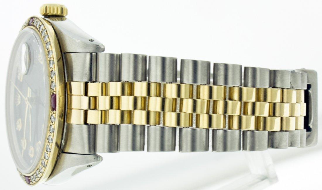 Rolex Stainless Steel&18k Yellow Gold Datejust WA11703 - 4