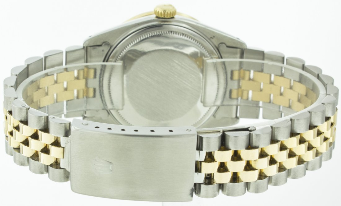 Rolex Stainless Steel&18k Yellow Gold Datejust WA11703 - 5