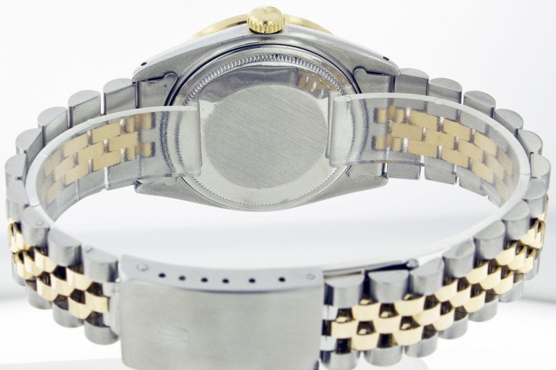 Rolex Stainless Steel&18k Yellow Gold Datejust WA11703 - 6