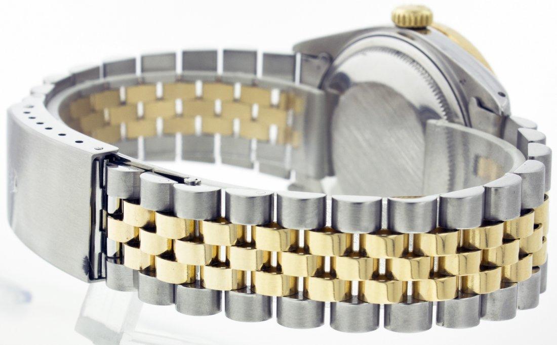 Rolex Stainless Steel&18k Yellow Gold Datejust WA11703 - 7