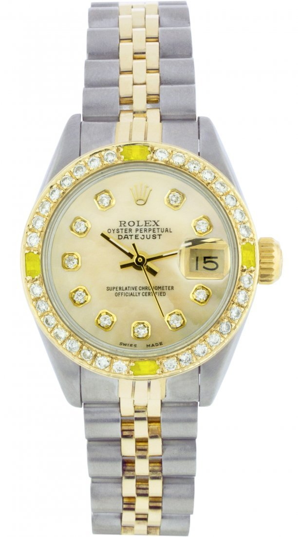 Rolex Stainless Steel&Yellow Gold Datejust WA11253
