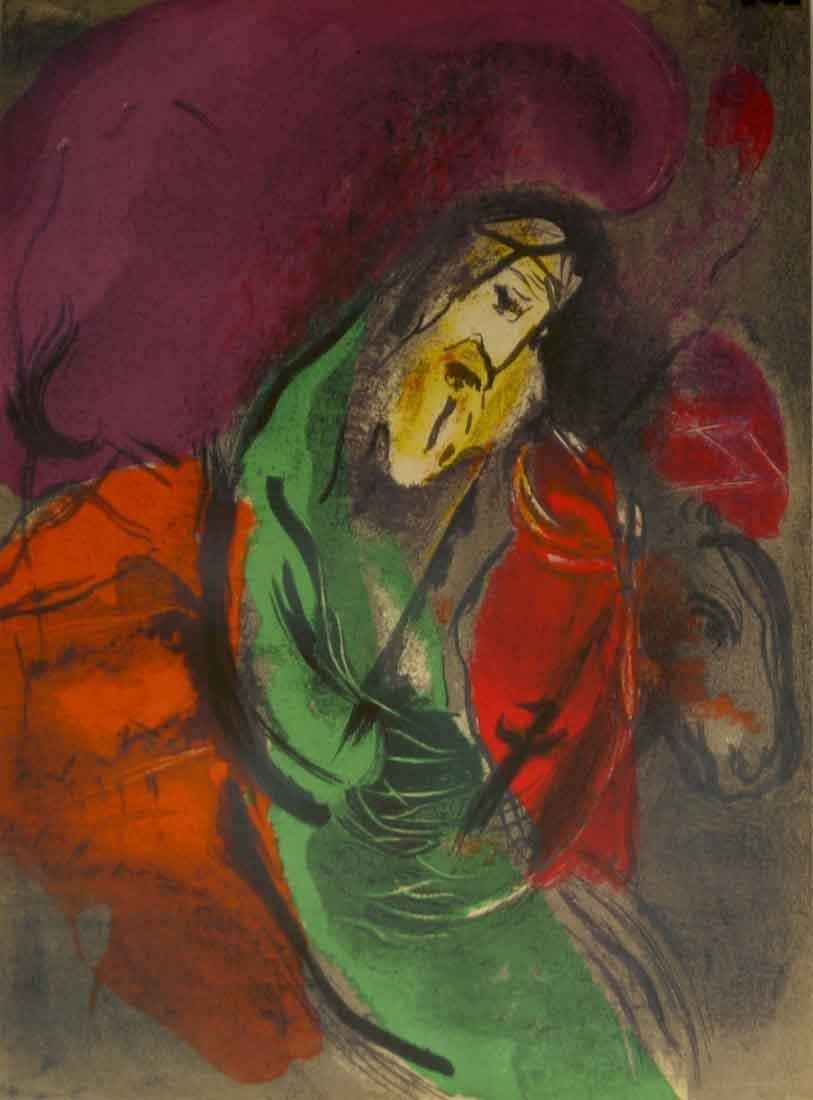 "Marc Chagall ""Bible - Jeremie"" W255"