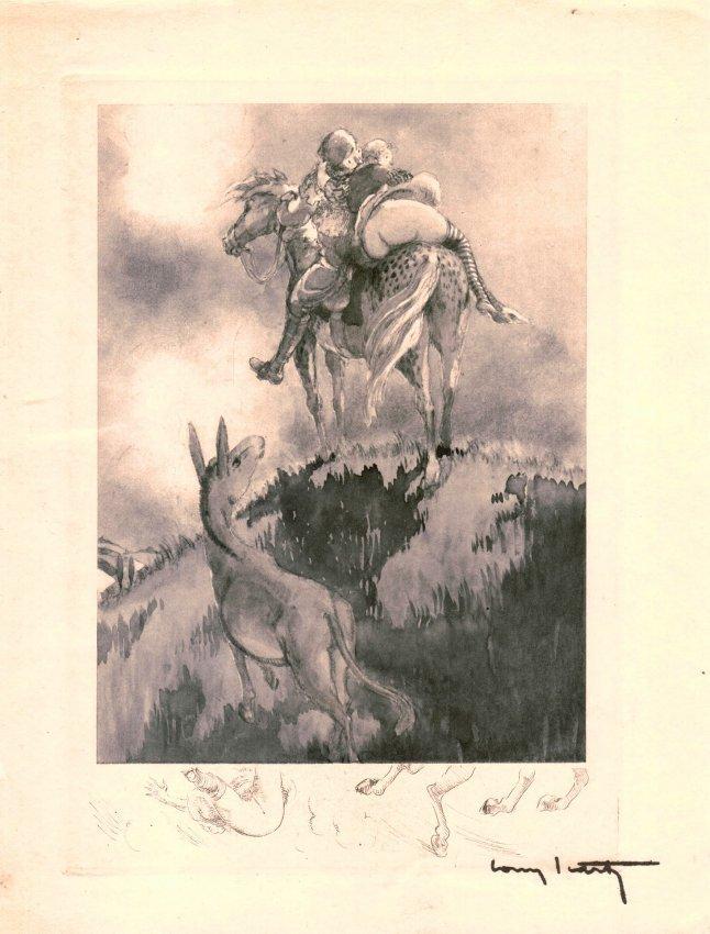 "Louis Icart ""From Gargantua et Pantagruel"" W105"