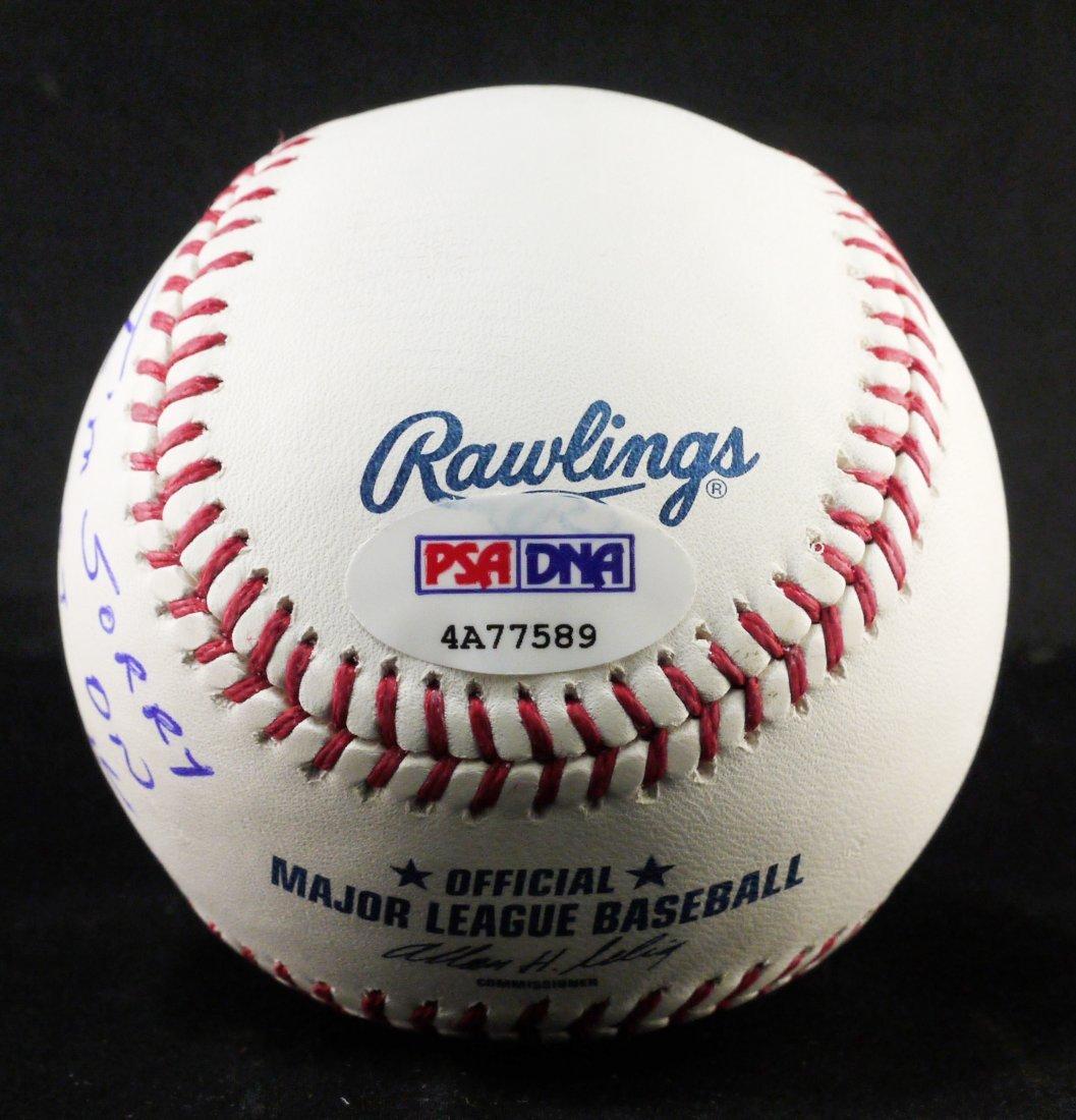 "Signed Pete Rose ""I'm Sorry IBet onBaseball"" W315 - 2"