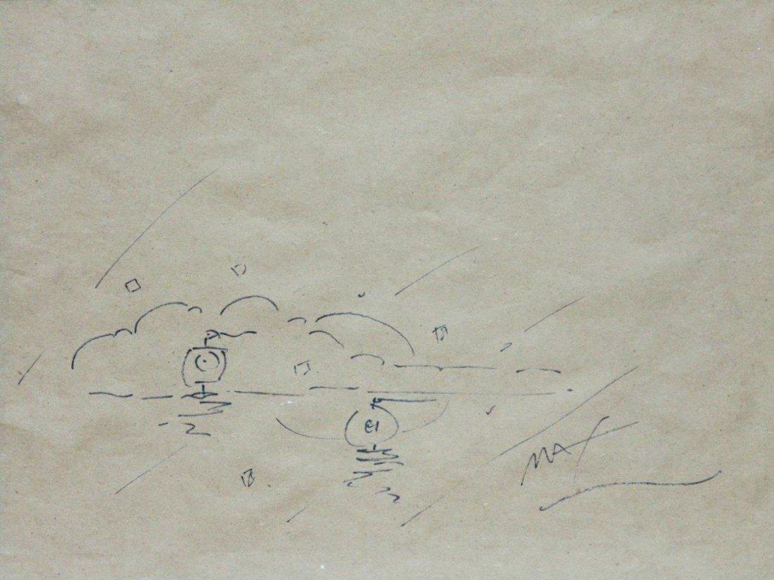 "Peter Max ""Sunset Sailing"" WN1425"