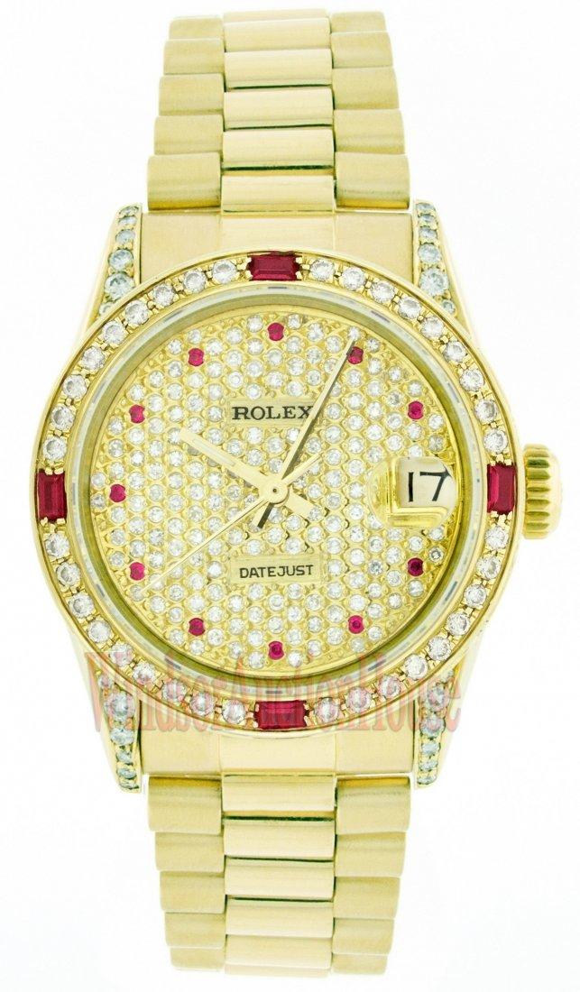 Rolex 18K Yellow Gold 31mm Datejust WA33903