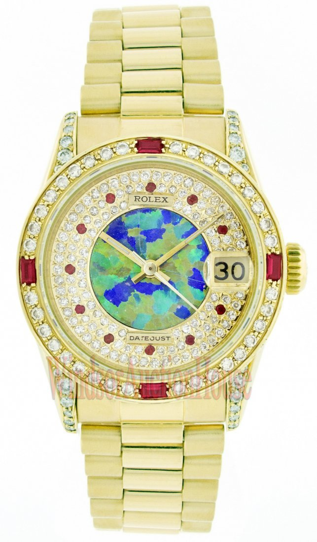 Rolex 18K Yellow Gold 31mm Datejust WA33603