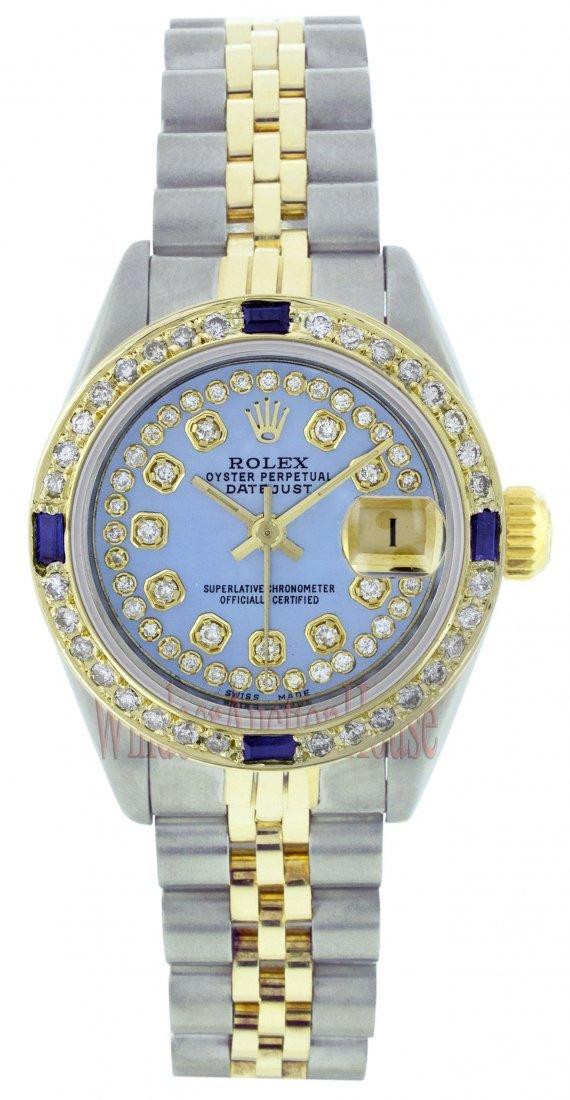 Rolex Stainless Steel&Yellow Gold Datejust WA12453