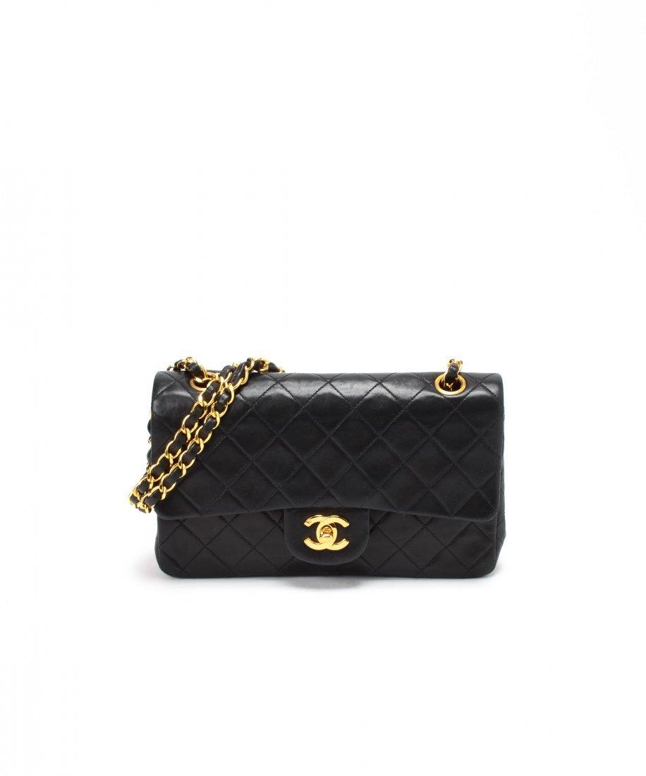 Chanel Matelasse Double Chain Shoulder Bag WF6585