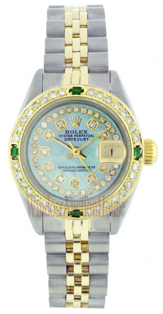 Rolex Stainless Steel&Yellow Gold Datejust WA11103