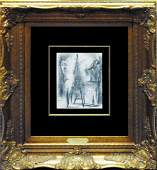 """Pablo Picasso """"Le Peintre et Son Modele"""" WN3150"""
