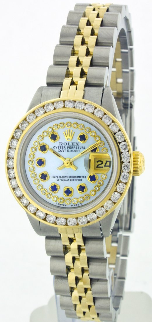 Rolex StainlessSteel&YellowGold Datejust WA11253