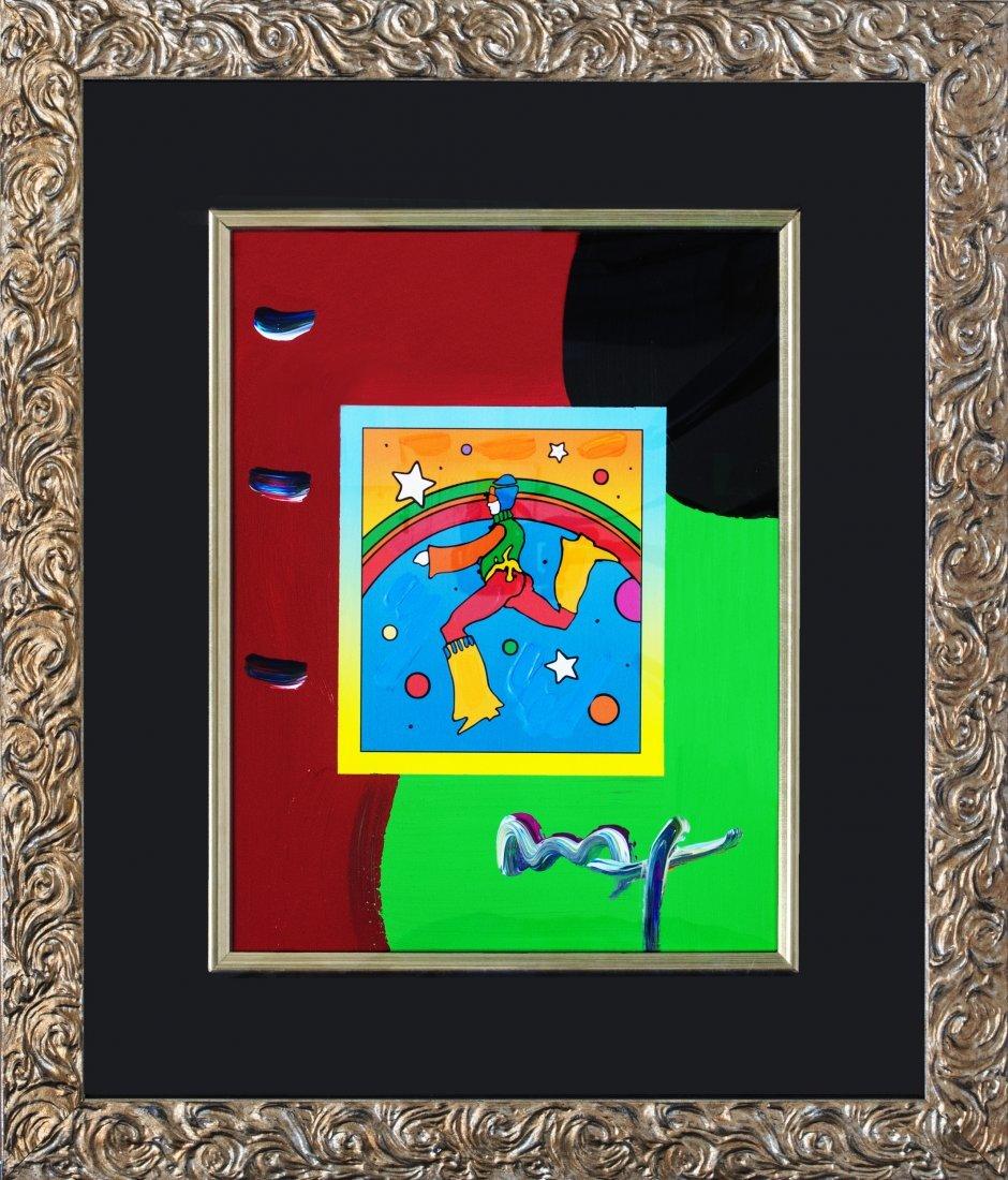"Peter Max ""Cosmic Jumper Detail on Blends 2007 #104"""