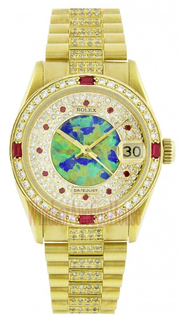Rolex 18K Yellow Gold 31mm Datejust WA33303
