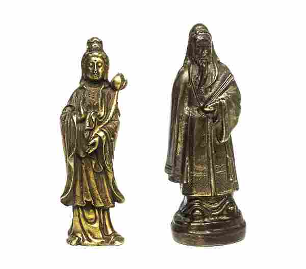 Antique Bronze Chinese Statues W89