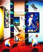 Ferjo Original Oil on Canvas W3625