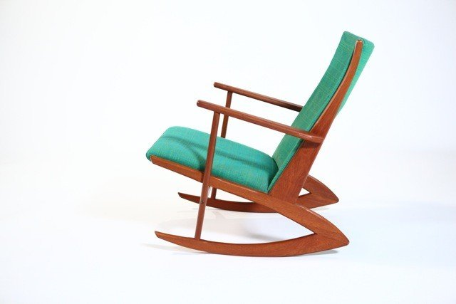 14B: Kubus by Georg Jensen - Rocking Chair original uph