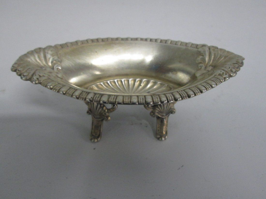 """Small Sterling Dish. Slight scratches. 1.5""""H 4.5"""""""