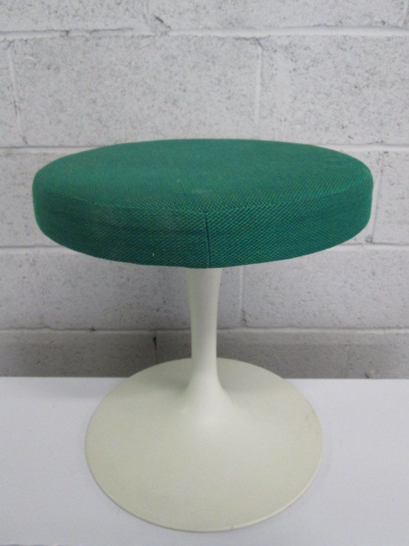Saarinen for Knoll Stool Labeled