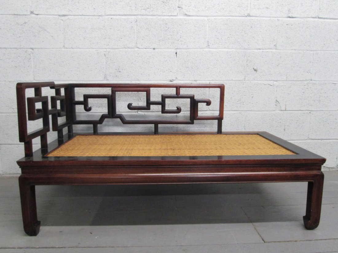 Rosewood Asian Style Daybed