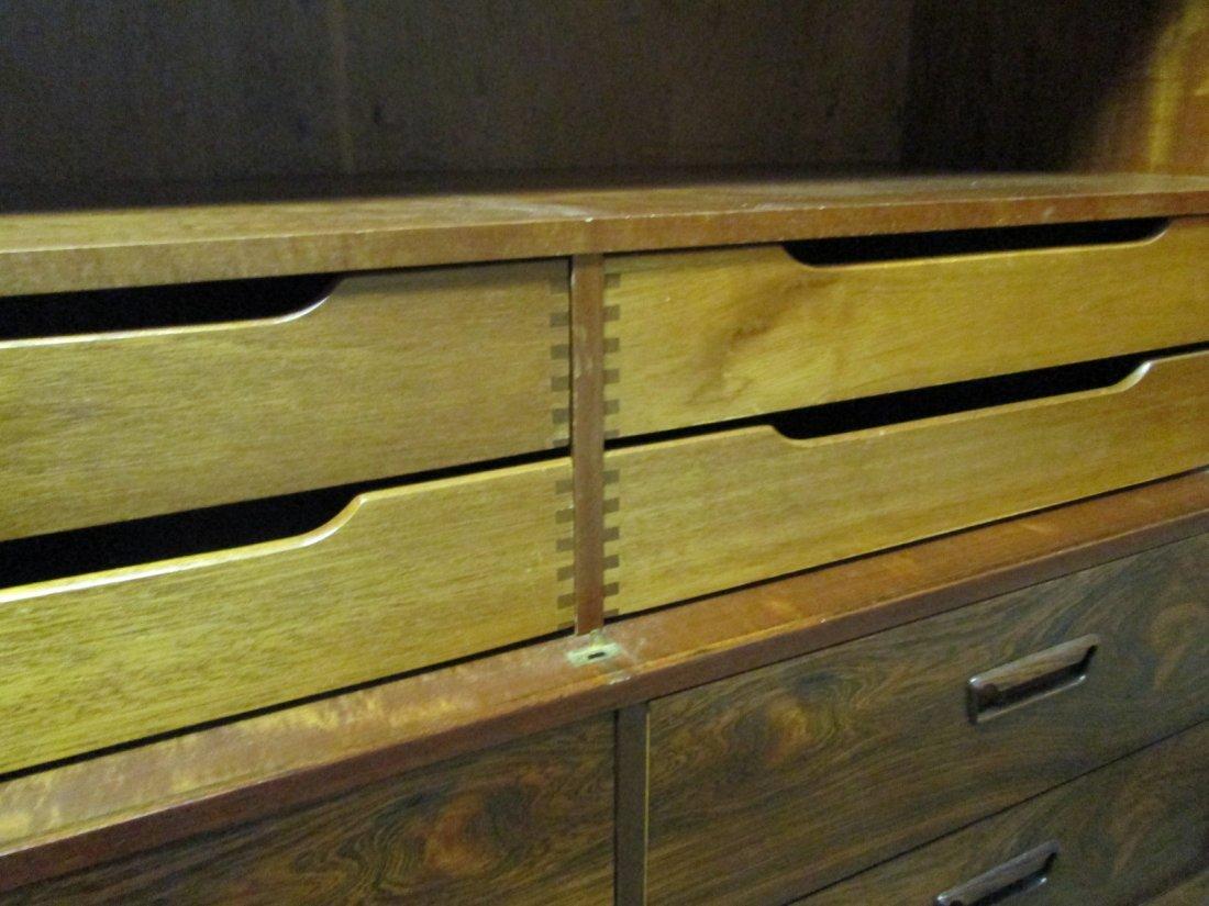 135: Mid Century Modern Rosewood Chest / Wardrobe - 5