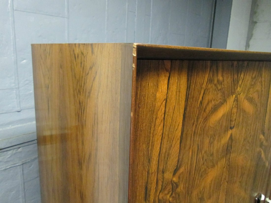 135: Mid Century Modern Rosewood Chest / Wardrobe - 6
