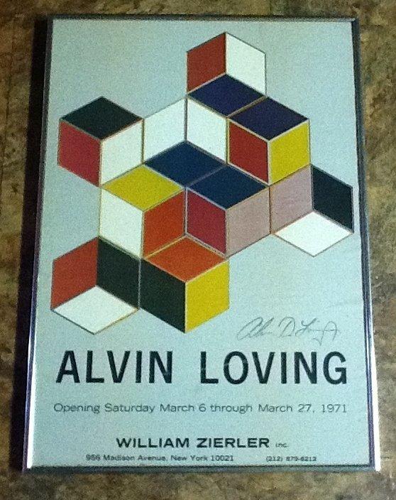 14: Signed Alvin Loving Poster