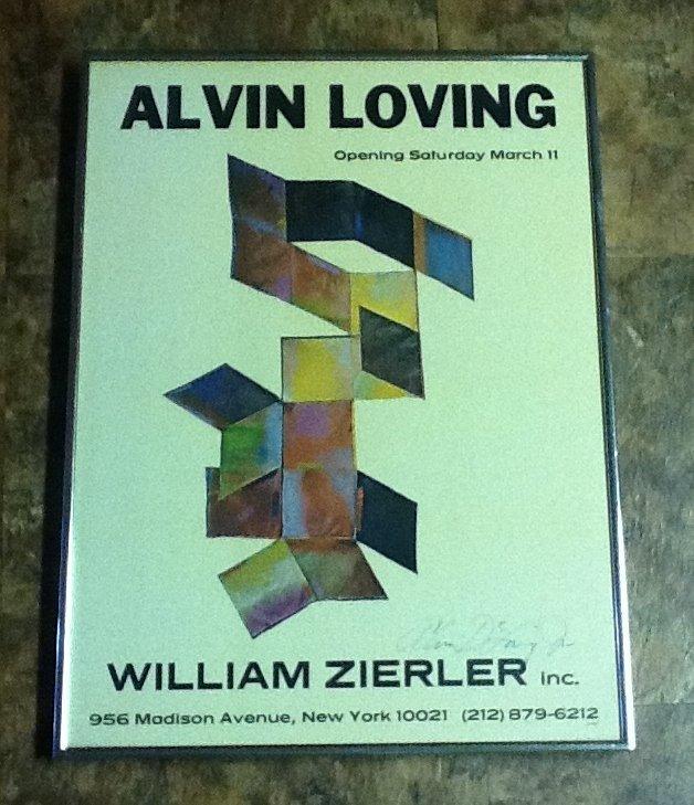 13: Signed Alvin Loving Poster