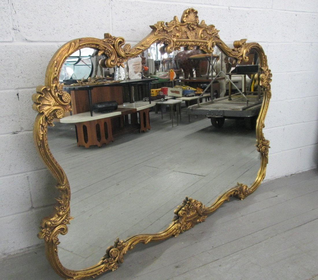 12: Antique Style Gold Mirror