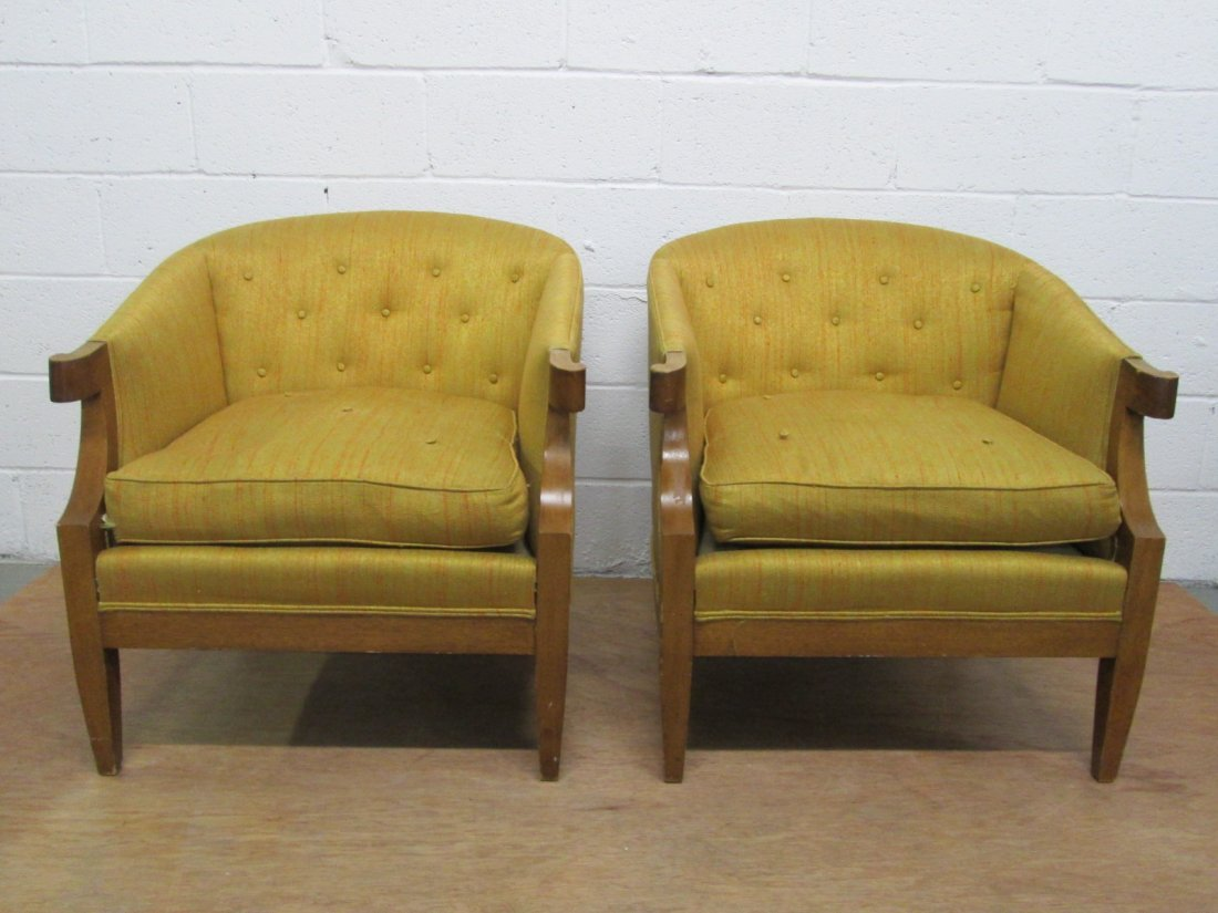 8: Pair Baker Chairs