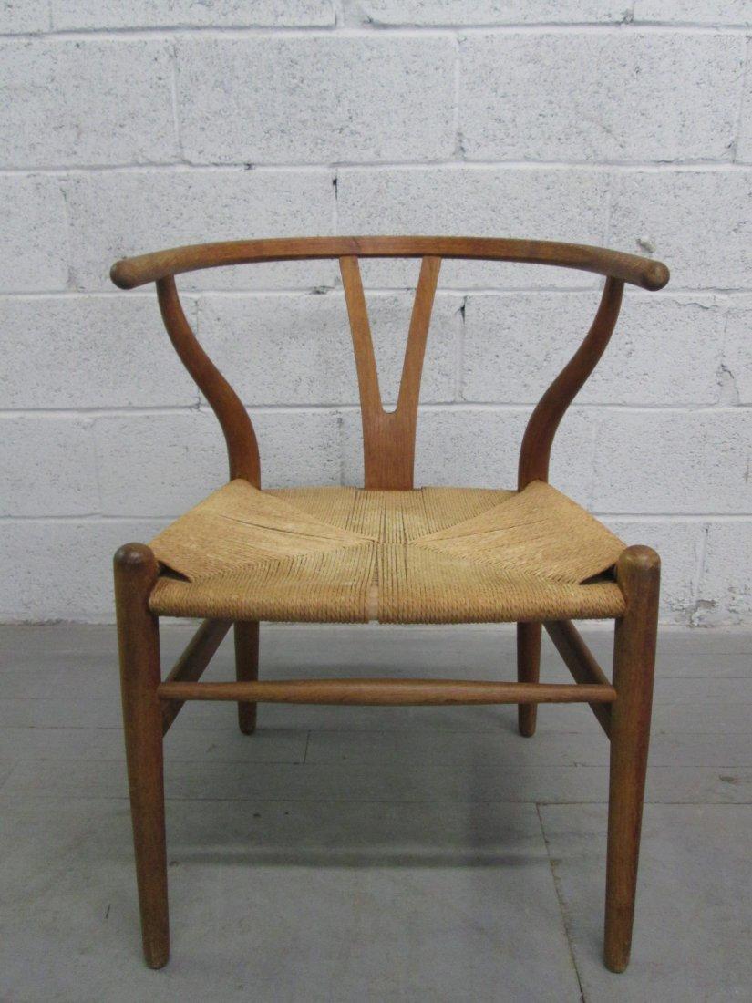 22: Mid Century Modern Hans Wegner Wishbone Chair