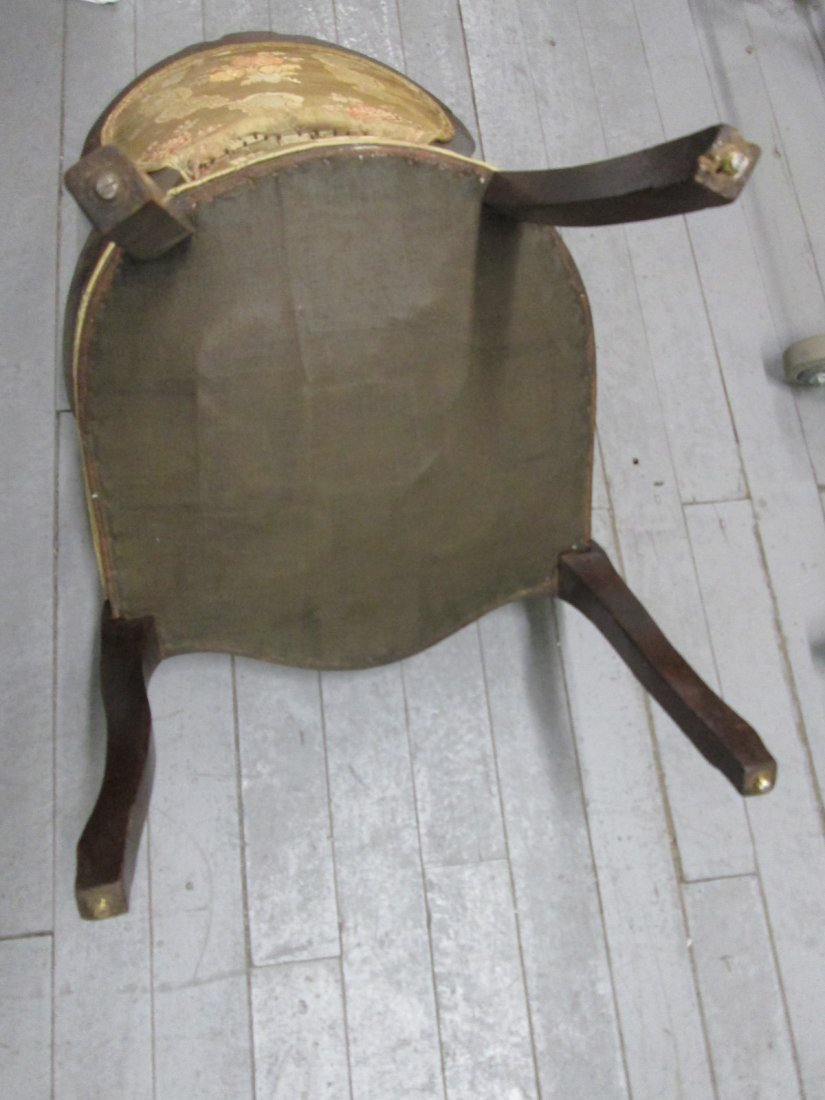 72: 4 Antique Balloon Back Chairs - 5