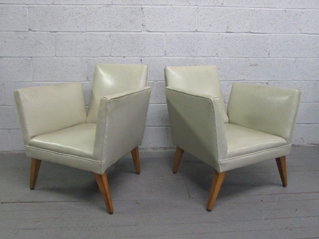 81: Pair Mid Century Modern Chairs