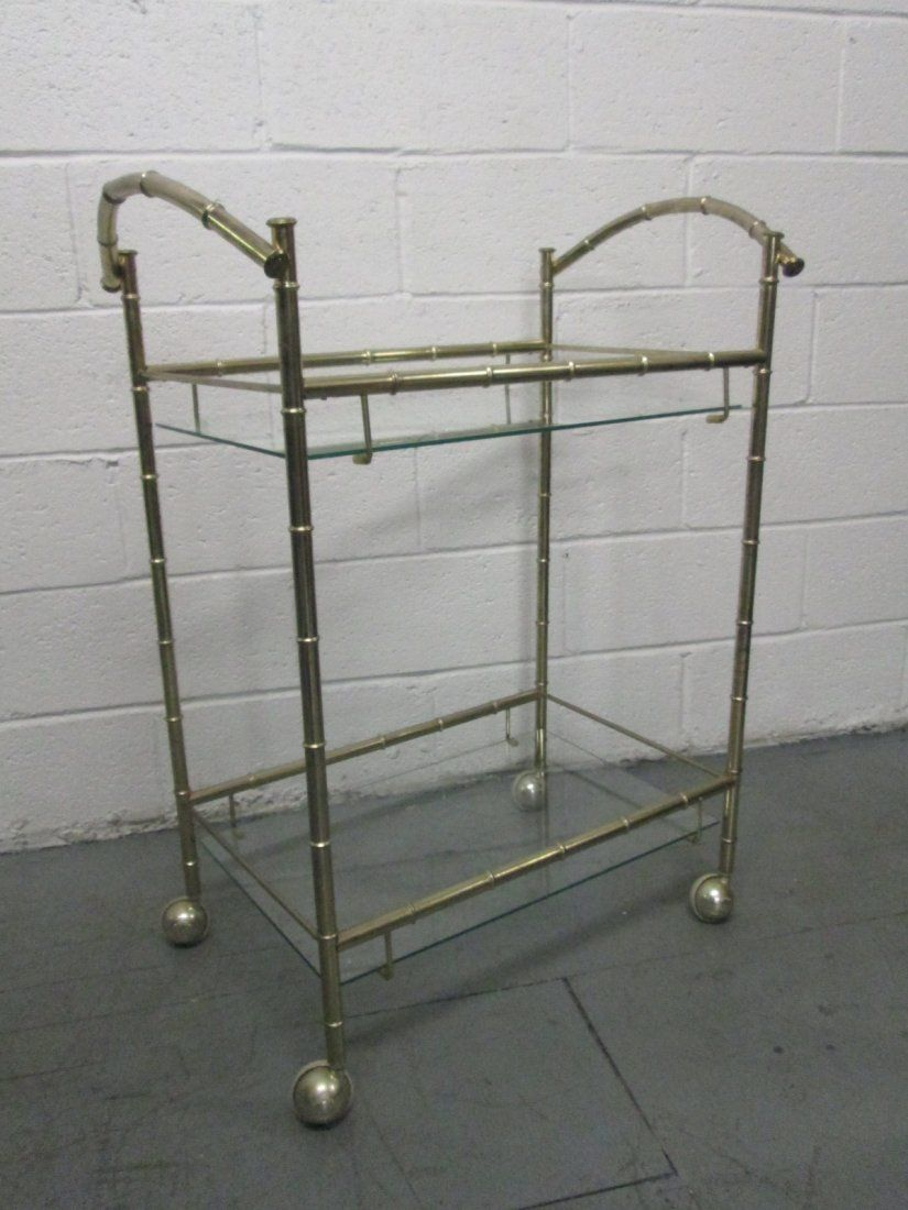 Two Tier Bar Cart